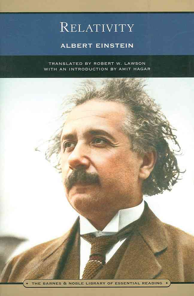 Relativity By Einstein, Albert/ Lawson, Robert W. (TRN)/ Hagar, Amit (INT)
